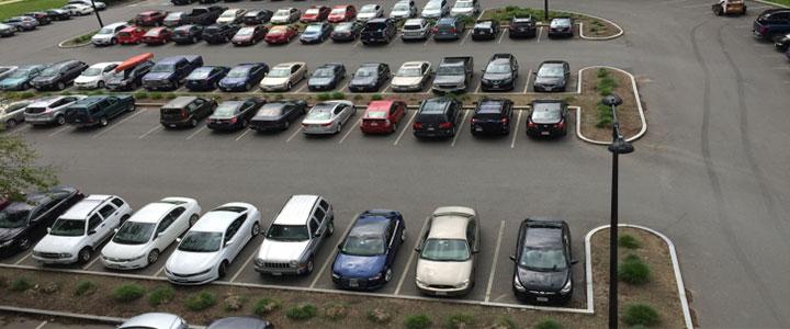 نظام آراستگی پارکینگ