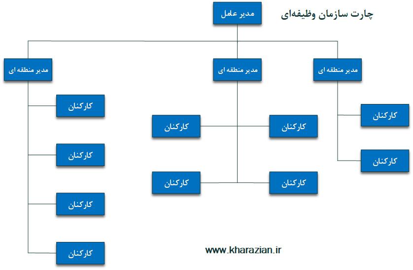 ساختار سازمانی وظیفهای