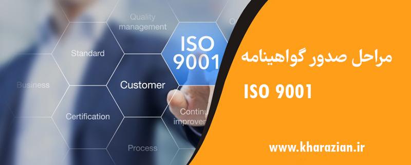 فرآیند صدور گواهینامه ISO 9001